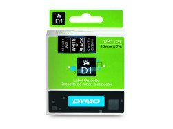Dymo D1 Standard Labels 12 mm x 7m white/black